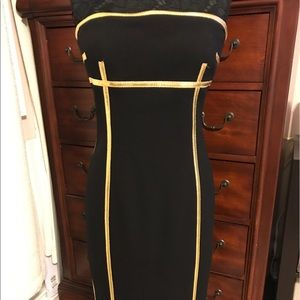 NWT Michael Kors select Strapless Dress. Size 8
